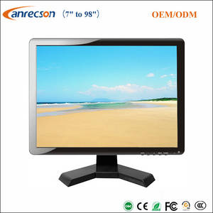 Wholesale cctv lcd monitor: Square 19 Inch LCD CCTV Monitor with LED Backlit
