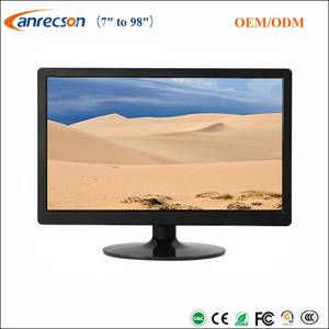 Wholesale lcd cctv display: Widescreen 1080p 21.5 Inch CCTV Monitor for Security Surveillance System