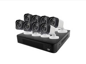 Wholesale cctv system: Ansjer 1080P 8CH HD CCTV Kit Indoor/Outdoor Bullet Camera Home Security Camera System