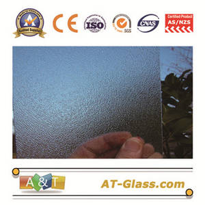 Wholesale furniture: 4 6 8mm Clear Nashiji  Patterned Glass for Window Furniture Door