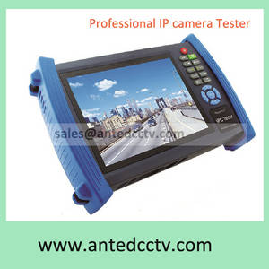 Wholesale cctv lcd monitor: Professional Onvif CCTV IP Camera Tester Monitor Wireless POE WIFI Camera Video Test with 7 TFT LCD