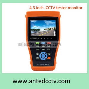 Wholesale poe switch for ipc: 4.3 Inch CCTV Tester Monitor Security AHD HD-CVI TVI SDI IP Camera Tester Tool Multi-function