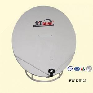 Wholesale satellite antenna: Ku Band 120cm Satellite Dish Antenna
