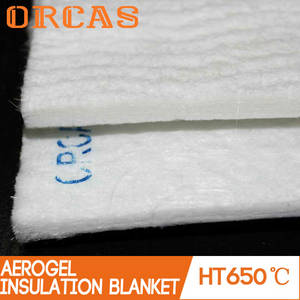 Wholesale blankets: Non Conductive Heat Resistant Material Aerogel Insulation Blanket