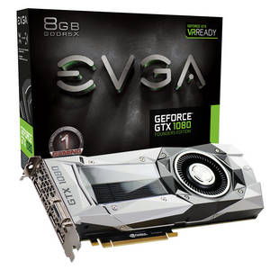 Wholesale Graphics Cards: EVGA GeForce GTX 1080 Founders Edition 8GB with HB BRIDGE