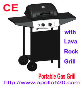 Wholesale household thermometer: Grills Gas BBQ with Lava Rock Grill
