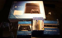 BUY 2 GET 1 FREE TRADE OK 100% GUARRANTY SELLER PS4 Pro Games PLUS 15 FREE GAMES,2 CONTROLLE