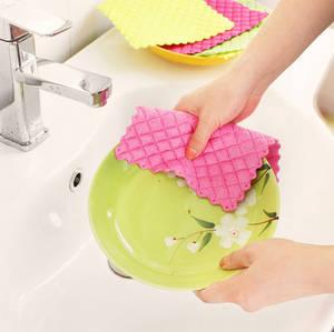 Wholesale Cleaning Cloths: Superfine Fibre Dishcloth
