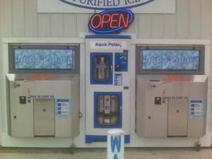 Wholesale water purifier: Ice Vending Machine