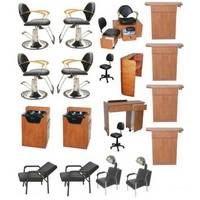 Beauty salon package spa furniture equipment from alpha omega international ud indonesia - Salon equipment international ...