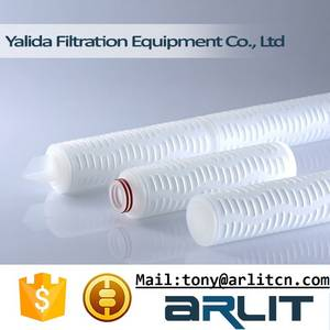 Wholesale Water Treatment: Manufacturer PP Pleated Micropore Water Filter Cartridge