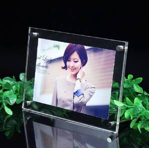 Wholesale custom cosmetic boxes: Acrylic Sign Hodler Photo Frame Leaflet Holder