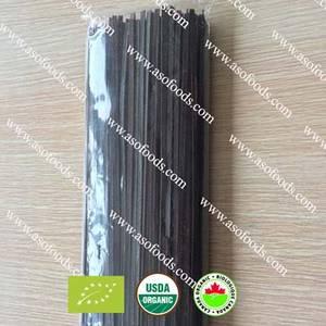 Wholesale black rice: Organic THAI Jasmine Black Rice Noodle Fettuccine Gluten Free Noodle
