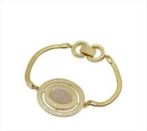 Wholesale gold bracelets: Gold Plated Bracelet