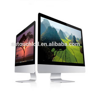 Wholesale LED Displays: Latest Barebone Monitor 21.5 Cheap Wide Screen 1080 Full HD Desktop Computers Capacitive Touch Scre