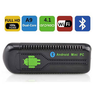Wholesale wireless internet usb stick: Android Smart TV Box Full HD Media Player Quad-core
