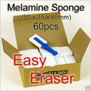 Wholesale sponge: 60 Magic Sponge Eraser Cleaning Cleaner