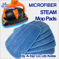 Wholesale microfiber: 6x Microfiber Steam MOP Pads Euroflex Monster & Hann