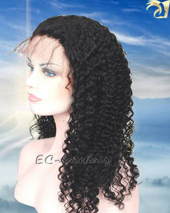 Wholesale Other Hair Accessories: Wholesale Indian Brazilian Human Hair Lace Wigs for African Americans Black Women