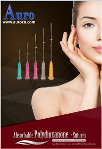 Wholesale slimming skin care: PDO Thread Lift Face Screw Sutures Needle