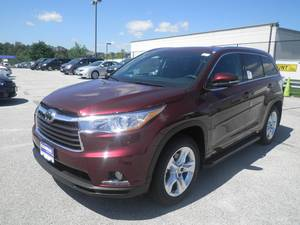 Wholesale transmission: New 2015 Toyota Highlander Limited 4D Sport Utility