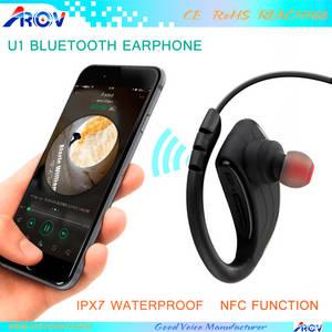 Wholesale phone charge: Newest Waterproof IPX7 Earphone Magnetic Charging Function NFC Earphones for Samsung Smart Phone