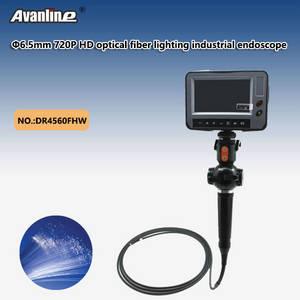 Wholesale automobile battery pack: 6mm 720P HD Optical Fiber Lighting Industrial Endoscope