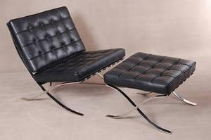 Wholesale furniture: Furniture Living Room Furniture Premium Leather Barcelona Chair