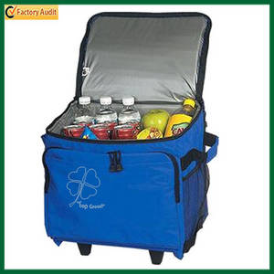 Wholesale wine trolley: Trolley Picnic Cooler Bag with Wheels (TP-CB106)
