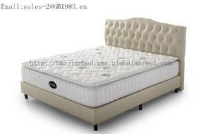 Wholesale memory foam pillow: Pillow Top Coil Mattress with Memory Foam
