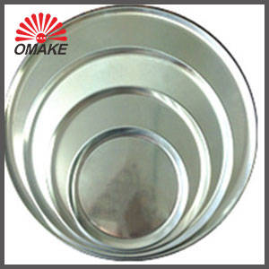 Bakeware: Sell round thick customized aluminum pizza pan