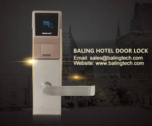 Wholesale rfid card reader: Hotel Card Reader Door Lock with Rfid  ANSI Electronic Door Lock