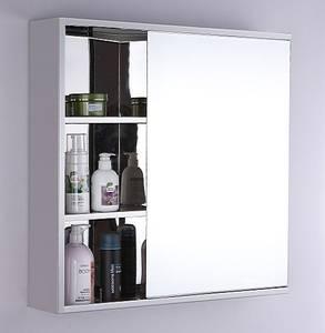 Wholesale mirror cabinet: Modern Luxury Wall Hug Bathroom Mirror Cabinet
