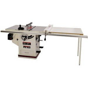 Wholesale chrome paint system: JET JTAS-10XL50-1DX 3 HP 10 in. Single Phase Left Tilt Deluxe XACTA Table Saw with 50 in. XACTAFence