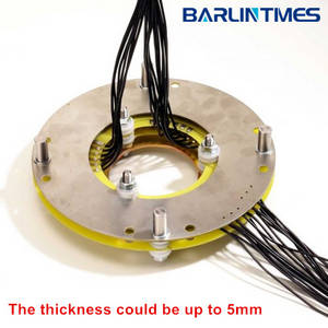 Wholesale mining equipment: Pancake Slip Ring with Through Bore 50RPM Work Speed for Mining Equipment, Missile Launcher From Bar