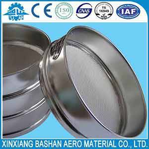Wholesale metal perforated screen: Laboratory Different Size Stainless Steel Standard Testing Sieves