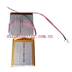 Wholesale Other Batteries: Lithium Polymer Battery, 3.7V, 1200mAh
