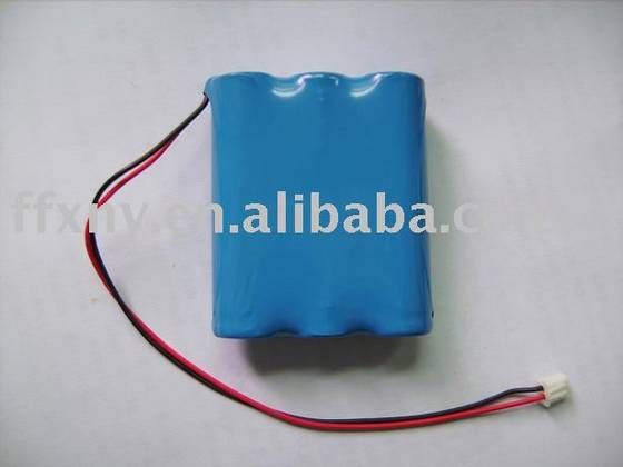 Sell 3.7V 6600mAh 18650 Li Ion Battery Pack With PCM Wire Connector