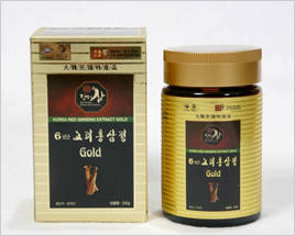 Wholesale korean red ginseng extract products: Six Year Old Goryeo Red Ginseng Gold