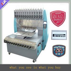 Wholesale garment label: PVC Label Making Machine for Garment/Cap/Bag
