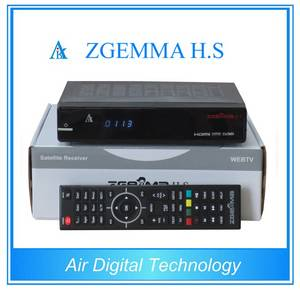Wholesale fta receiver: Original ZGEMMA H.S with Dual Core Linux OS ENIGMA2 Single Tuner DVB-S2 Satellite Receiver