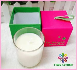 Wholesale gifts: Scented Glass Candle with Nice Gift Box