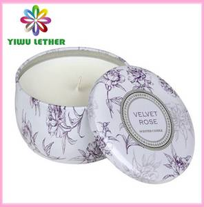 Wholesale printing: Printed Travel Tin Candles