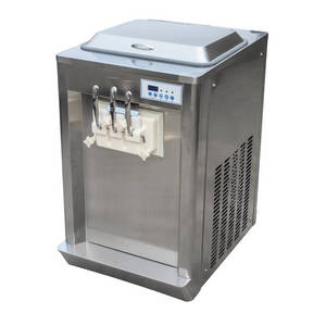 Wholesale cooling system: Commercial Counter Top Frozen Yogurt Ice Cream Machine with Pre-cooling System