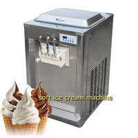 Desk Top 3nozzles Ice Cream Machine with Factory Price