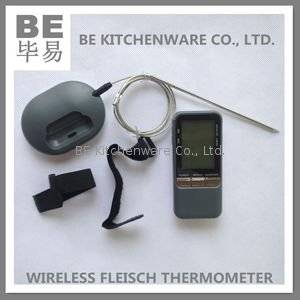 Wholesale led submersible light: Electronic Wireless BBQ Grill Fleisch Thermometer