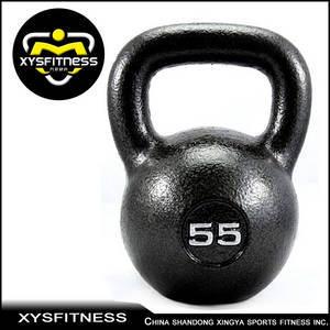 Wholesale Weight Lifting: Durable Black Painted Kettlebell