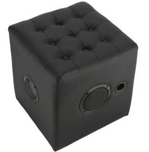 Wholesale lounge: Custom Lounge Chair and Ottoman Leather Bluetooth Speaker for Home Theather