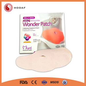 Wholesale natur product: New Product Wholesale Natural Fat Burning Belly Slimming Wonder Patch