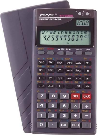 Scientific Calculator With Clock Porpo Brand Yh 2000 Id